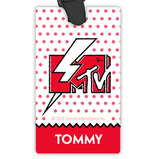 MTV Personalized Luggage Tag Luggage Tag