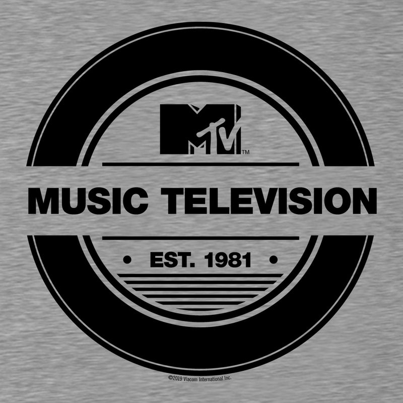 MTV Gear Record Men's Tri-Blend T-Shirt