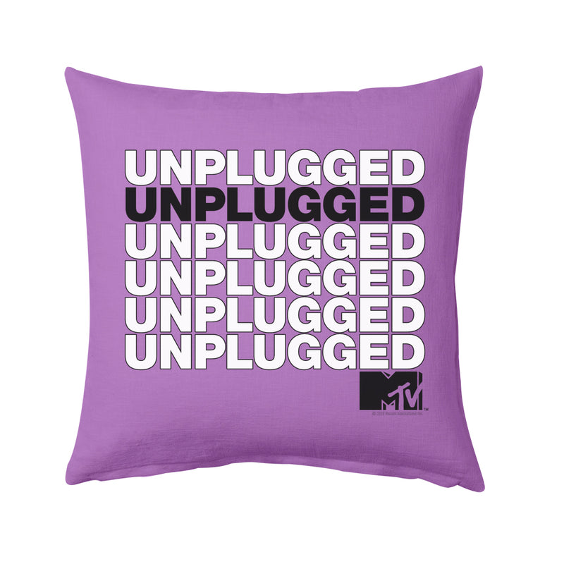 MTV Unplugged Pillow