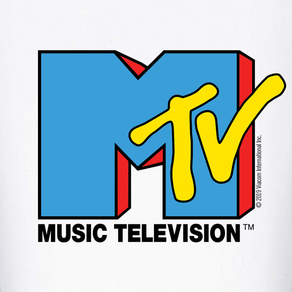 MTV Music Television Pint Glass