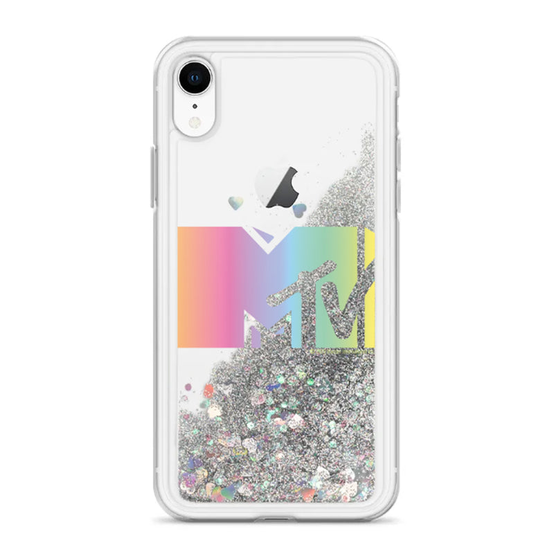 MTV Gear MTV Liquid Glitter iPhone Case