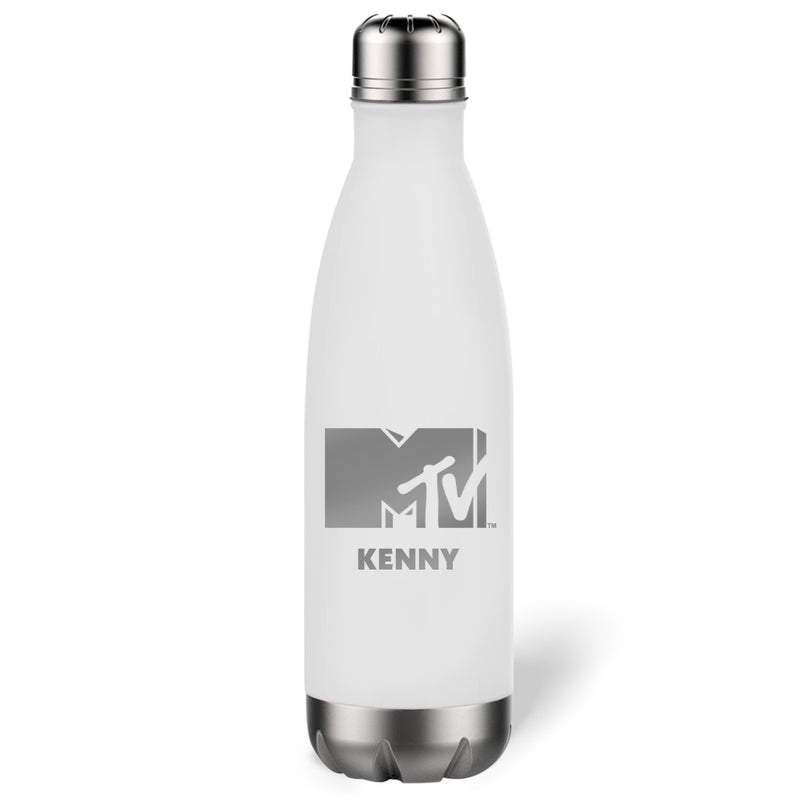 MTV Personalized Slim Water Bottle