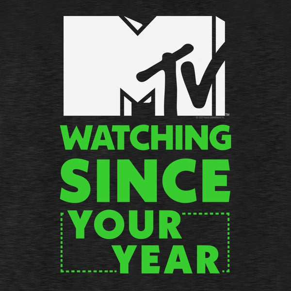 "MTV Personalized ""Been Watching Since"" Men's Tri-Blend T-Shirt"