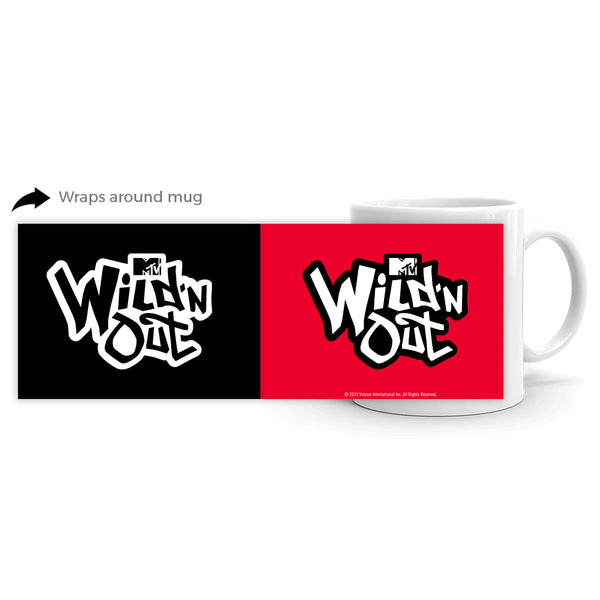 Wild 'N Out Black and Red 11 oz. Logo Mug