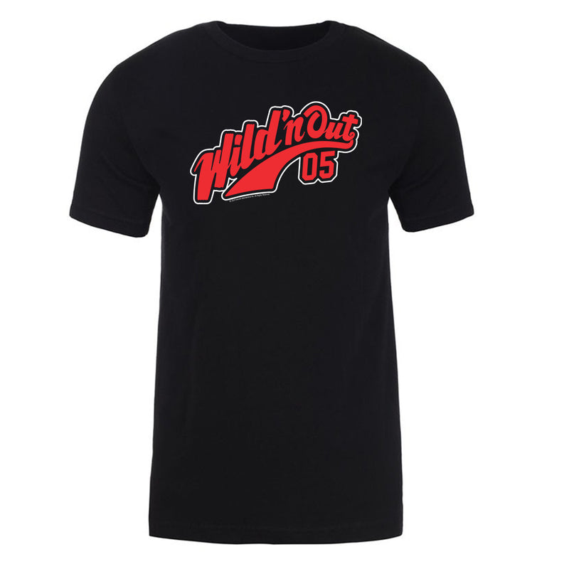 Wild 'N Out Jersey Logo Black Adult Short Sleeve T-Shirt