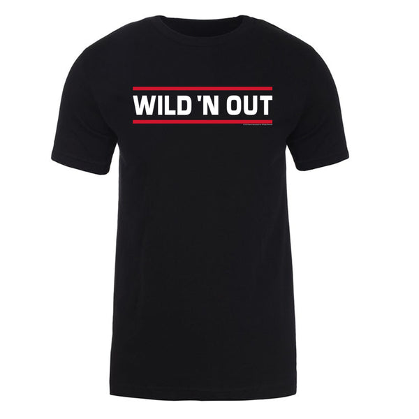 Wild 'N OutLined Logo Adult Short Sleeve T-Shirt