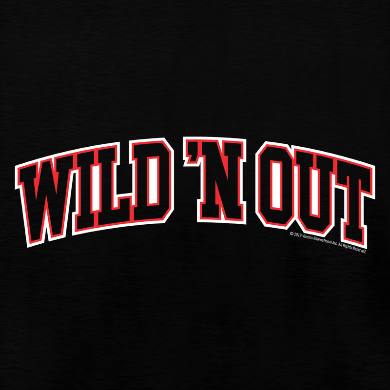 Wild 'N Out Arched Logo Adult Long Sleeve T-Shirt