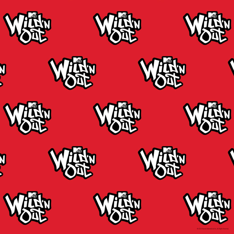 Wild 'N Out Official Logo Pattern Sherpa Blanket