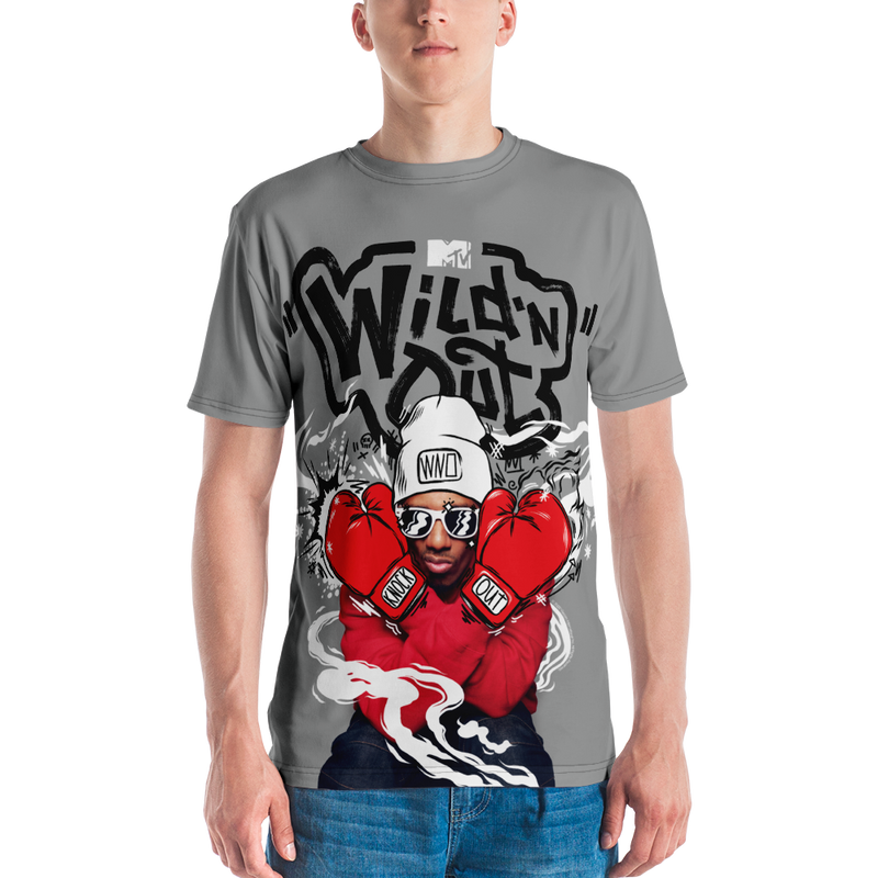 Wild 'N Out Nick Cannon Boxing Adult All-Over Print T-Shirt
