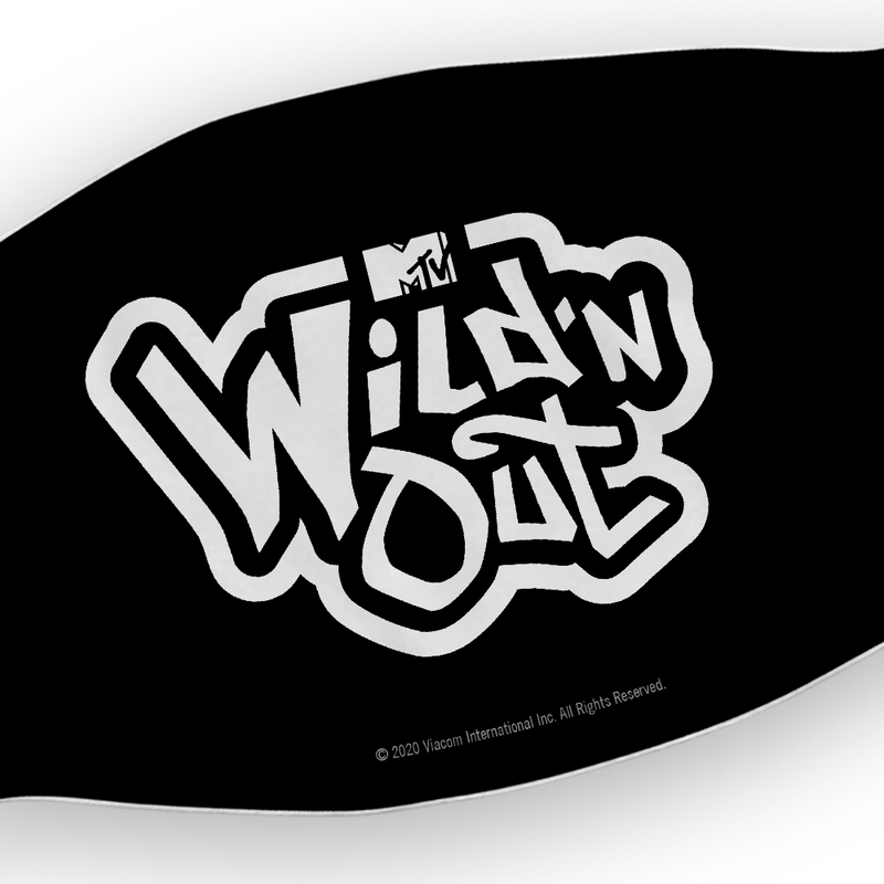 Wild 'N Out Logo Washable Face Mask