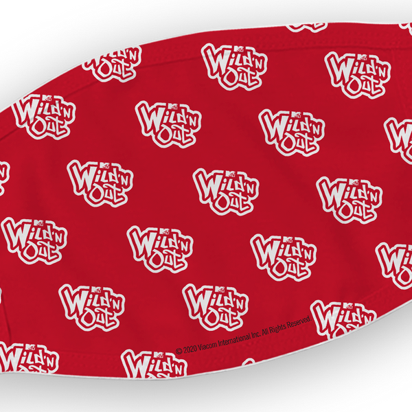 Wild 'N Out Repeat Logo Washable Face Mask