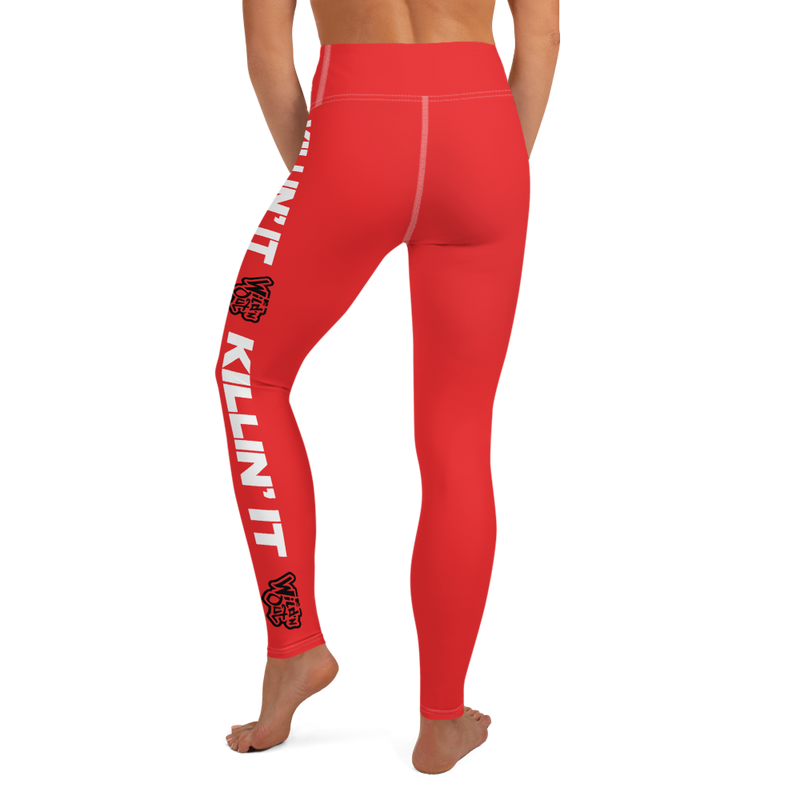 Wild 'N Out Killin' It Women's All-Over Print Yoga Leggings