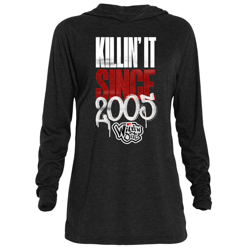 Wild 'N Out Killin' It Adult Tri-Blend Raglan Hoodie