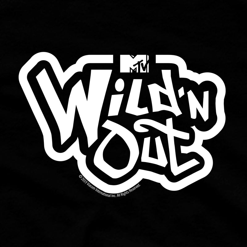 Wild 'N Out Official Logo Women's Fleece Crop Hoodie