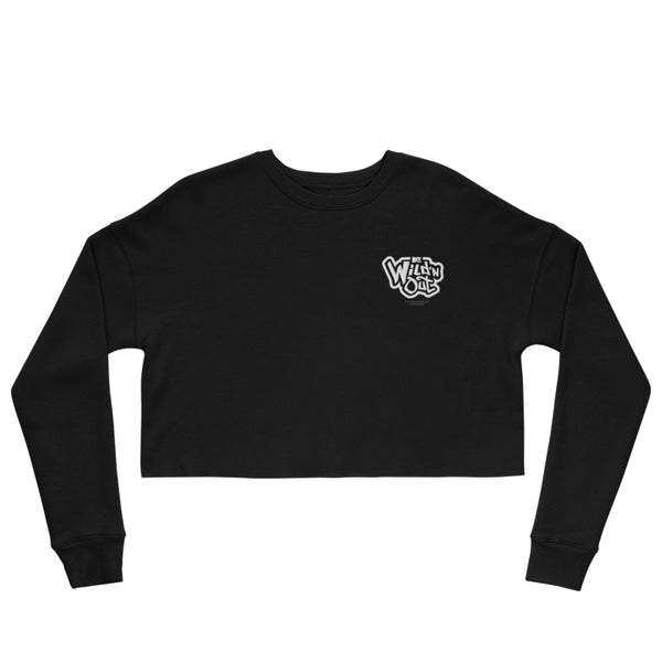 Wild 'N Out Logo Women's Fleece Crop Sweatshirt