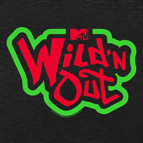 Wild 'N Out Red and Green Logo Women's Racerback Tank Top