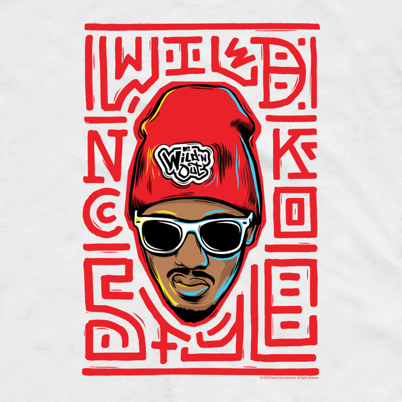 Wild 'N Out Nick Cannon Adult Short Sleeve T-Shirt