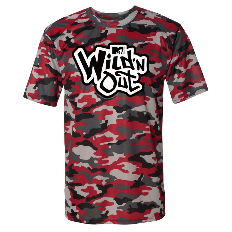 Wild 'N Out Red Camo Short Sleeve T-Shirt