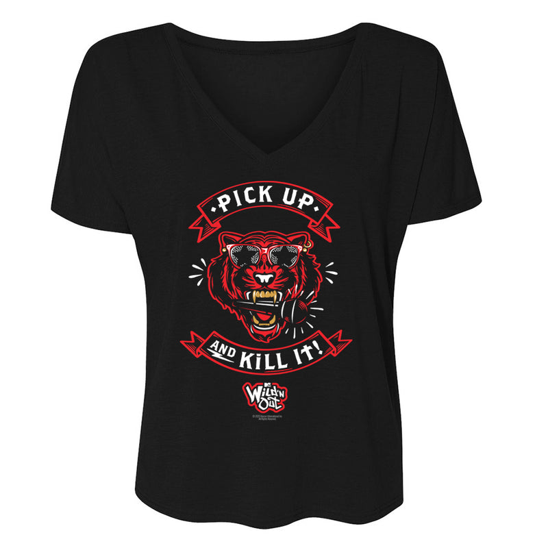 Wild 'N Out Pick Up And Kill It! Women's Relaxed V-Neck T-Shirt