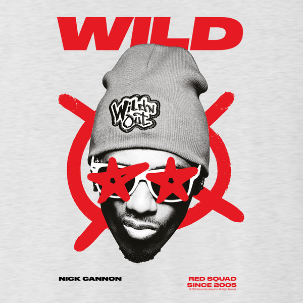 Wild 'N Out Nick Cannon Red Squad Men's Tri-Blend T-Shirt