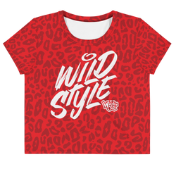 Wild 'N Out Wild Style Cheetah Women's All-Over Print Crop T-Shirt