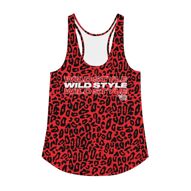 Wild 'N Out Wild Style Cheetah Women's All-Over Print Racerback Tank Top