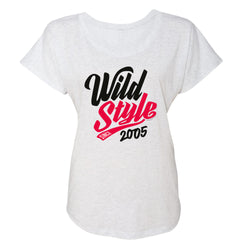 Wild 'N Out Wild Style Women's Tri-Blend Dolman T-Shirt