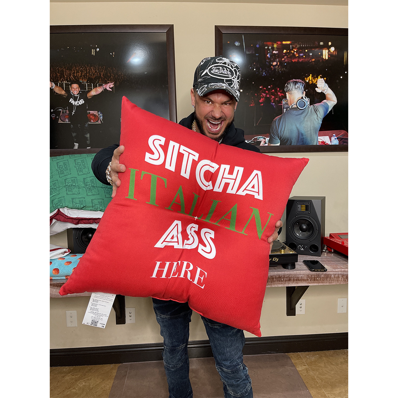 Jersey Shore Family Vacation Sitcha Floor Pillow