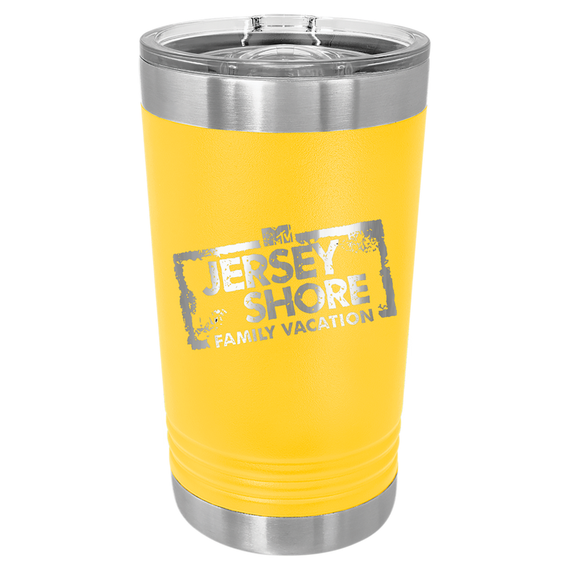 Jersey Shore Family Vacation Insulated Tumbler w/ Slider Lid