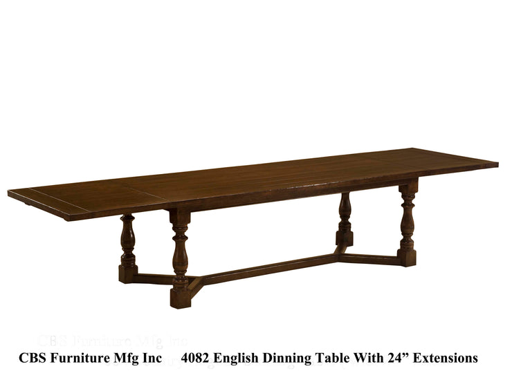 4082 ENGLISH DINING TABLE