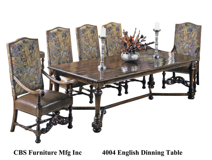 4004 ENGLISH DINING TABLE