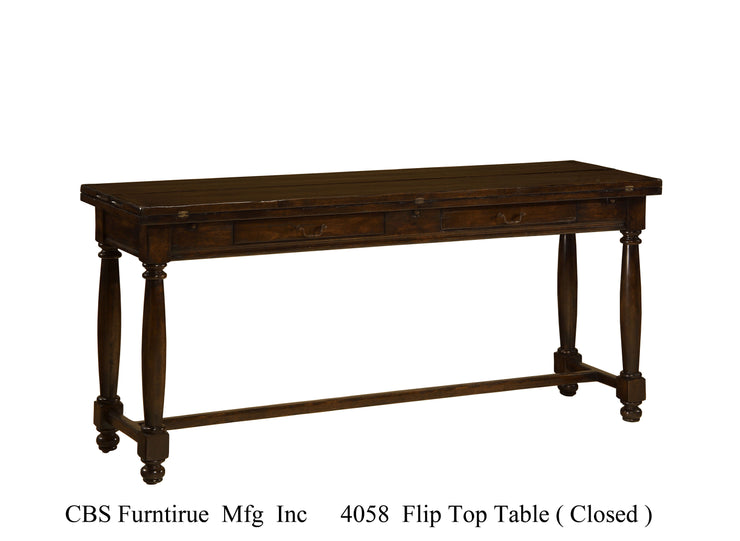 4058 FLIP TOP DINING TABLE