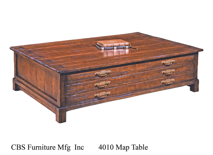 4010 MAP COFFEE TABLE