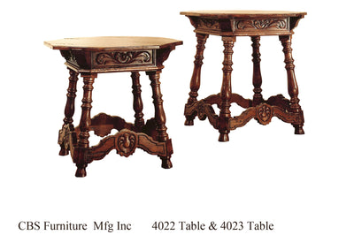 4022 END TABLE & 4023 END TABLE