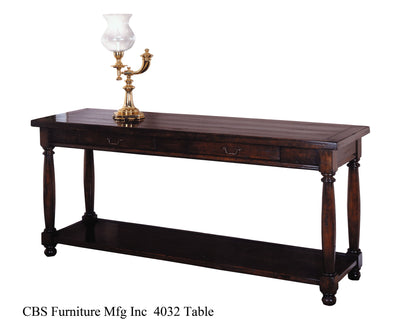 4032 CONSOLE TABLE