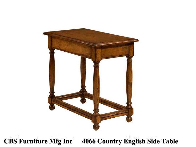 4066 COUNTRY ENGLISH SIDE END TABLE
