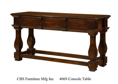 4069 CONSOLE TABLE