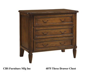 4075 THREE DRAWER CHEST
