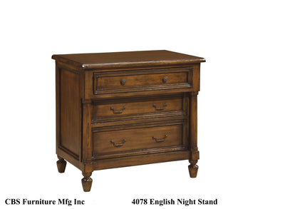 4078 ENGLISH NIGHT STAND