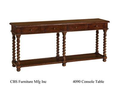 4090 CONSOLE TABLE