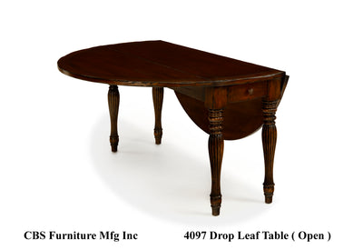 4097 DROP LEAF DINING TABLE