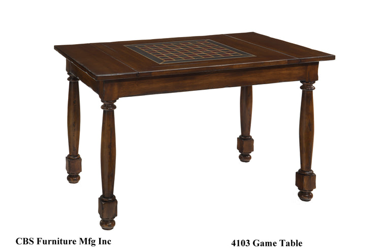 4103 GAME TABLE