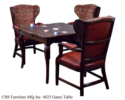 4025 GAME TABLE