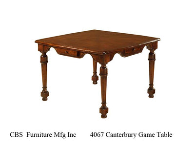 4067 CANTERBURY GAME TABLE