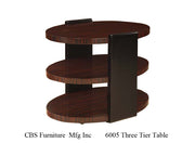 6005 THREE TIER END TABLE