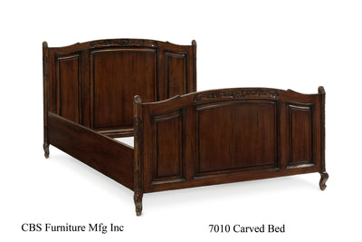 7010 CARVED BED