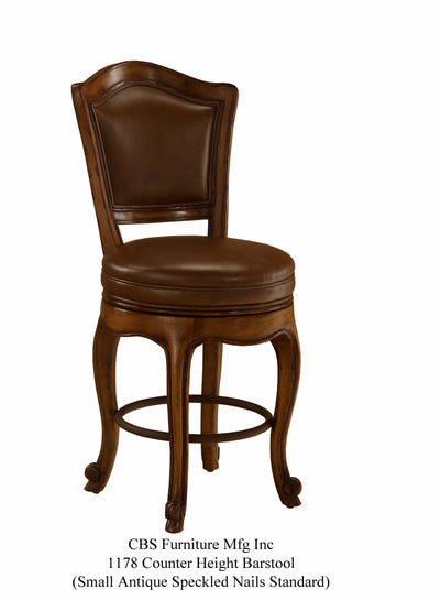 1178 COUNTER HEIGHT BARSTOOL