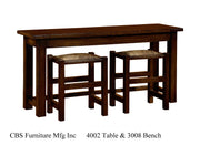 4002 TABLE & 3008 BENCH