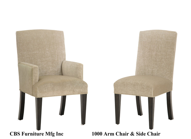 1000 ARM CHAIR & SIDE CHAIR
