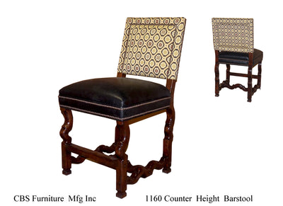 1160 COUNTER HEIGHT BARSTOOL
